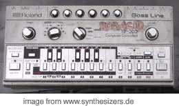 Roland TB303 synthesizer
