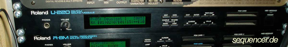 Roland U220, U20 synthesizer