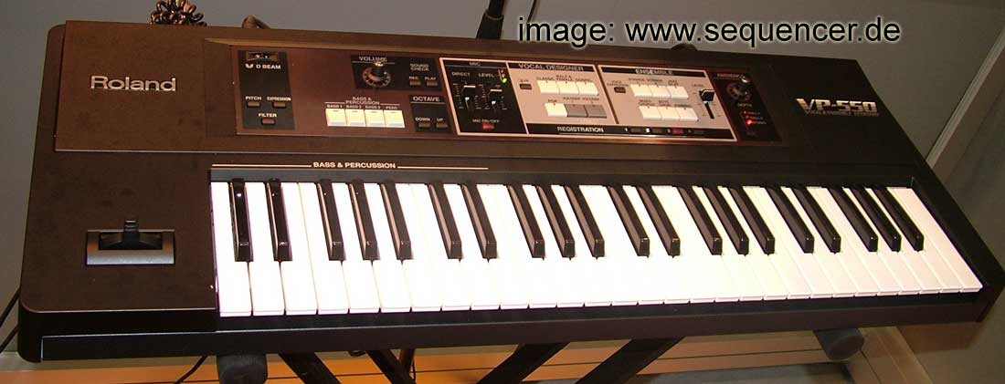 Roland VP550 synthesizer