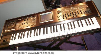 Roland VSynthXT synthesizer
