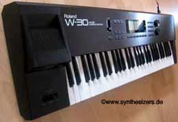 Roland W30 synthesizer