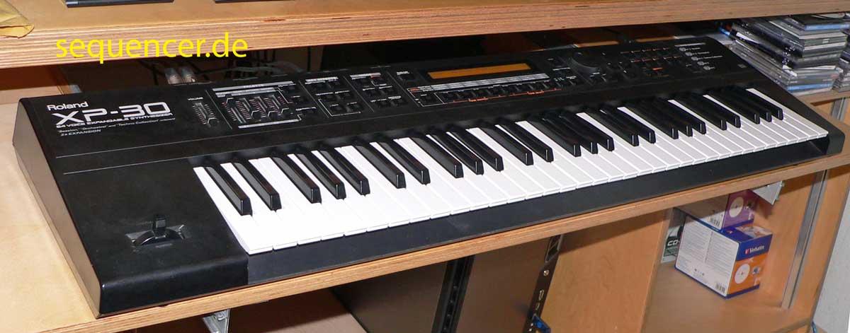 roland xp50 xp30 digital synthesizer workstation sequencer. Black Bedroom Furniture Sets. Home Design Ideas