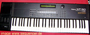 Roland XP50, XP30 synthesizer