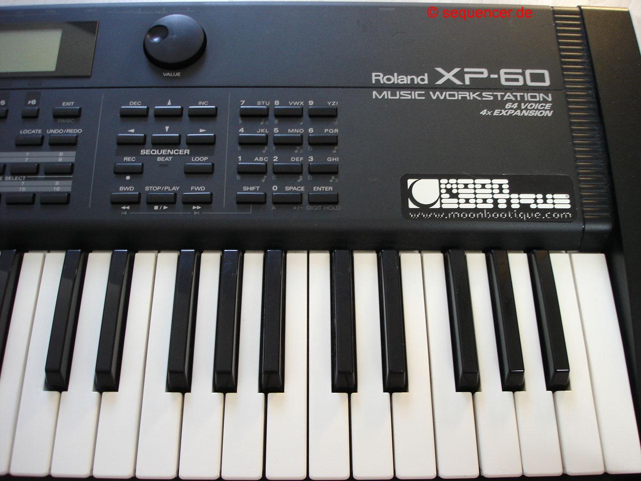 roland xp60 digital synthesizer workstation sequencer. Black Bedroom Furniture Sets. Home Design Ideas