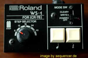 Roland CR78 Roland CR-78 synthesizer