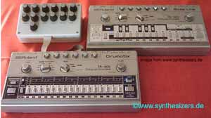 Roland TB303 bassline - TR606 drumcomputer modified
