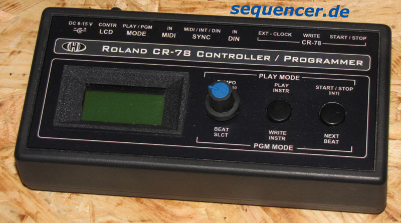 CR78 Programmer alternative CR78 programmer synthesizer