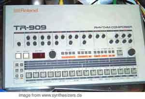 roland TR909 rhythm composer