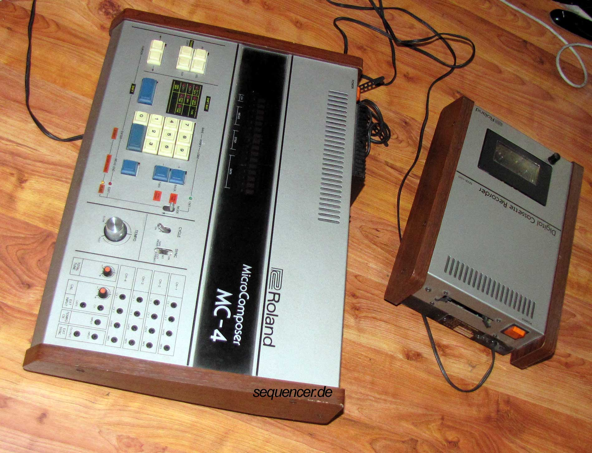 Step Sequenzer Midi Lauflicht Sequencer Programm Strange Led Mc4 Datacorder Cv Gate Roland