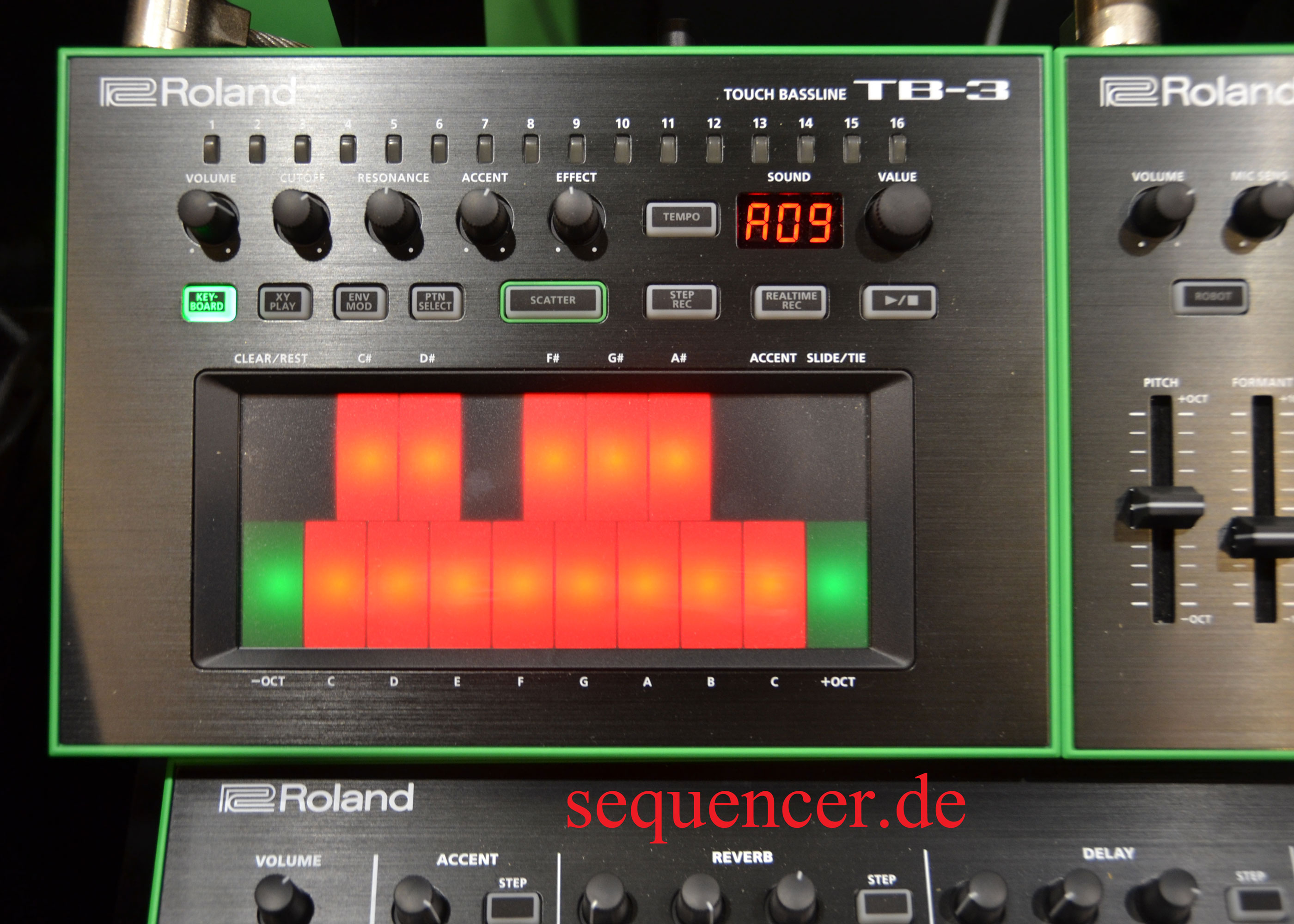 Roland Tb3 Digital Synthesizer Step Sequencer