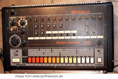 Roland TR808 synthesizer