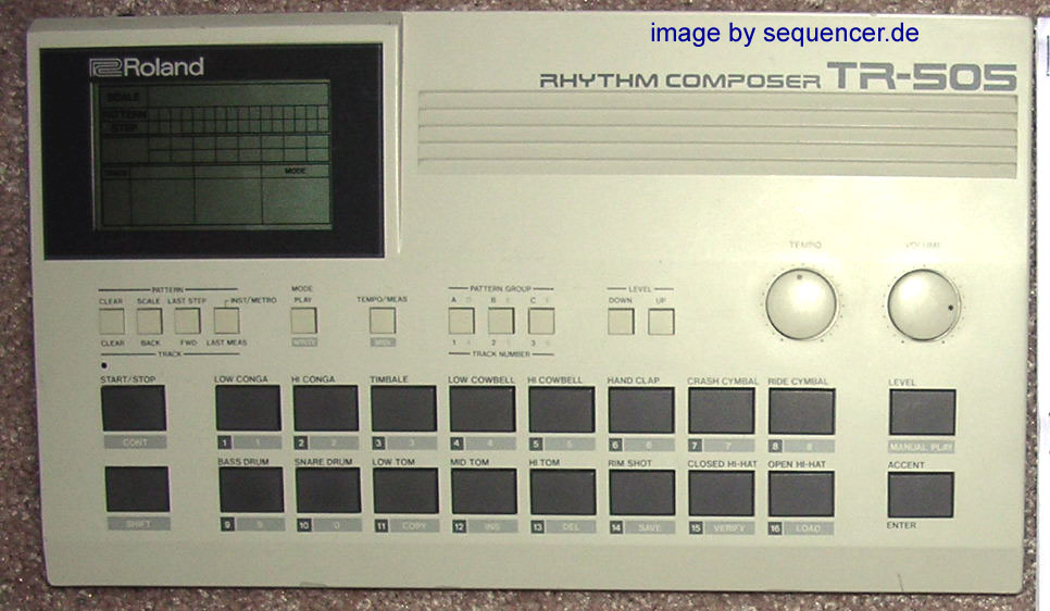 TR-505 TR-505 synthesizer