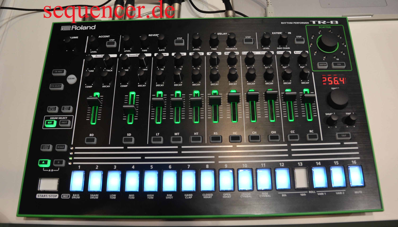 Roland Tr8 Drummachine Module Tr Sequencer