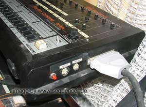 Roland TR808 PNBELEGUNG Roland TR808 din sync pin synthesizer