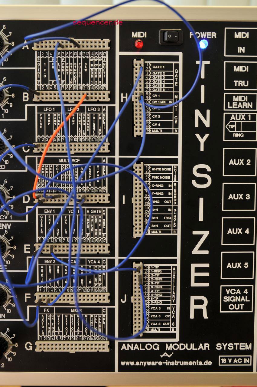 Tinysizer Modular System Tinysizer Modular System synthesizer