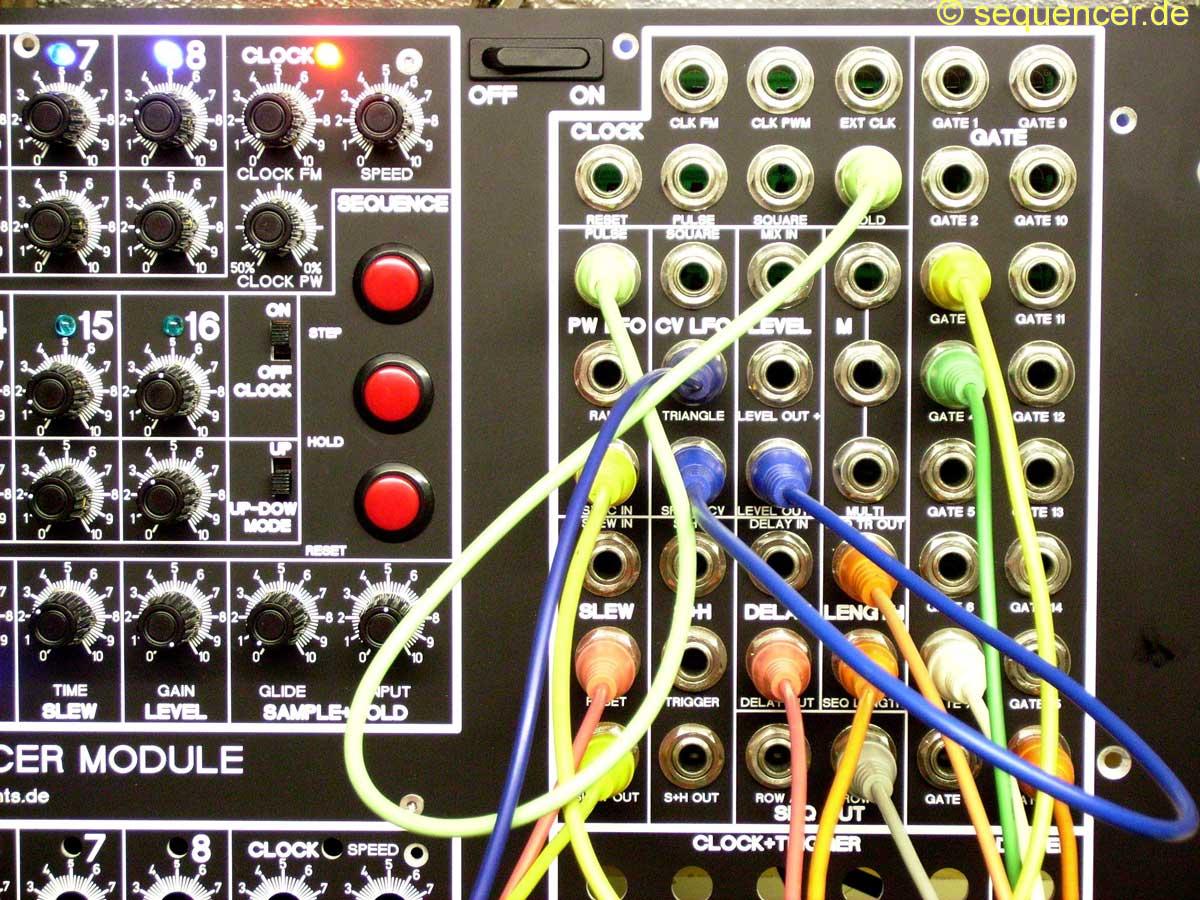 Step Sequenzer Midi Lauflicht Sequencer Programm Strange Led Inseqt Analog
