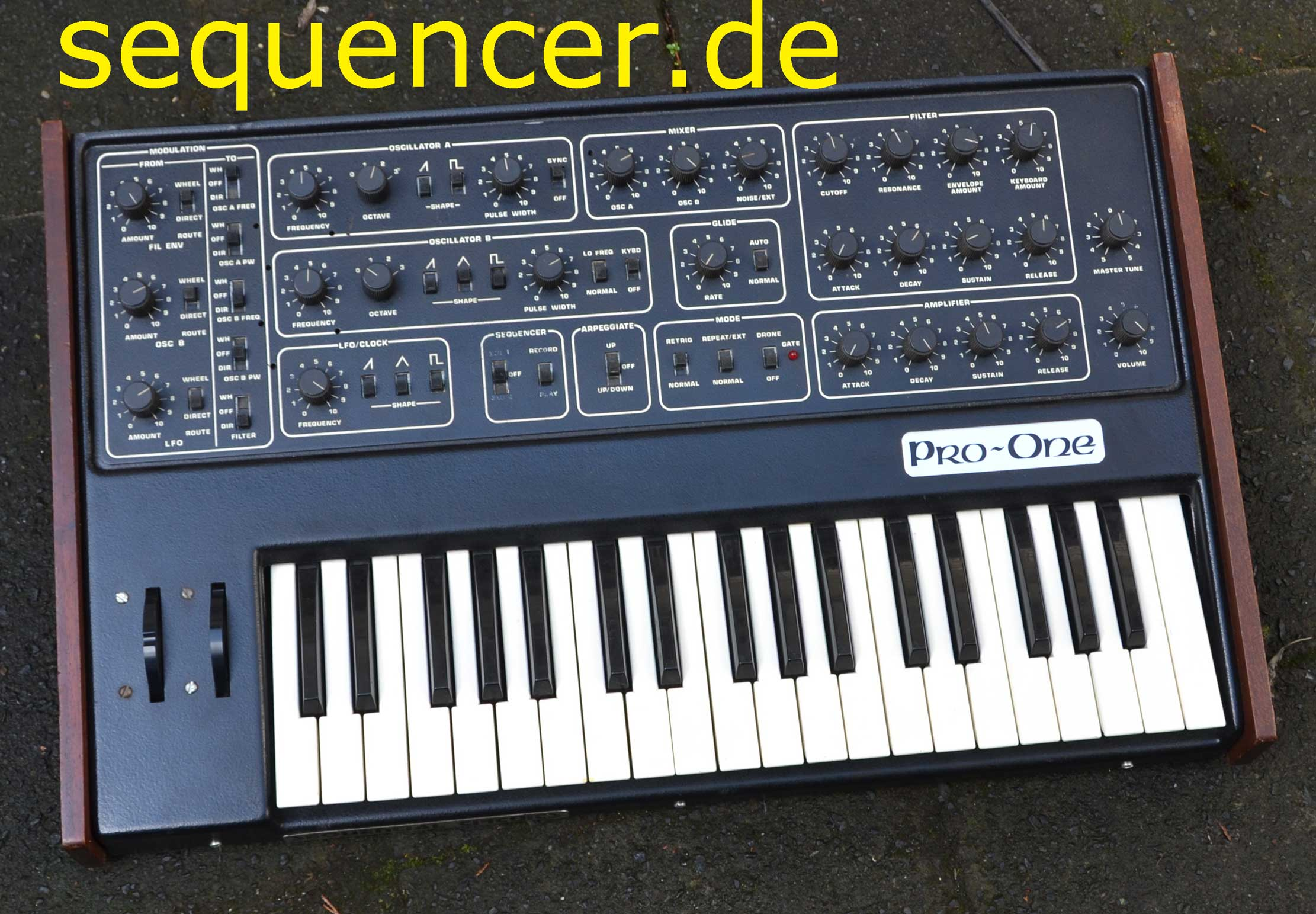 Sequential Circuits ProOne Pro1 synthesizer