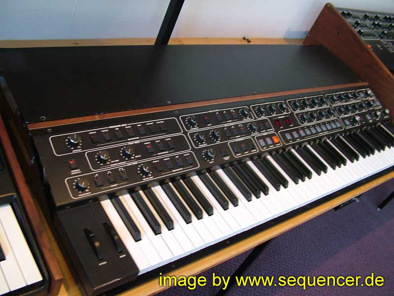 Sequential Circuits T8 synthesizer