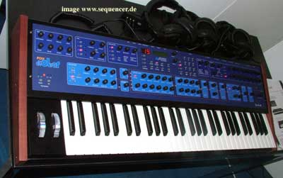 Dave Smith Poly Evolver Keyboard , PEK synthesizer