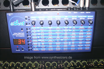 Dave Smith Evolver synthesizer
