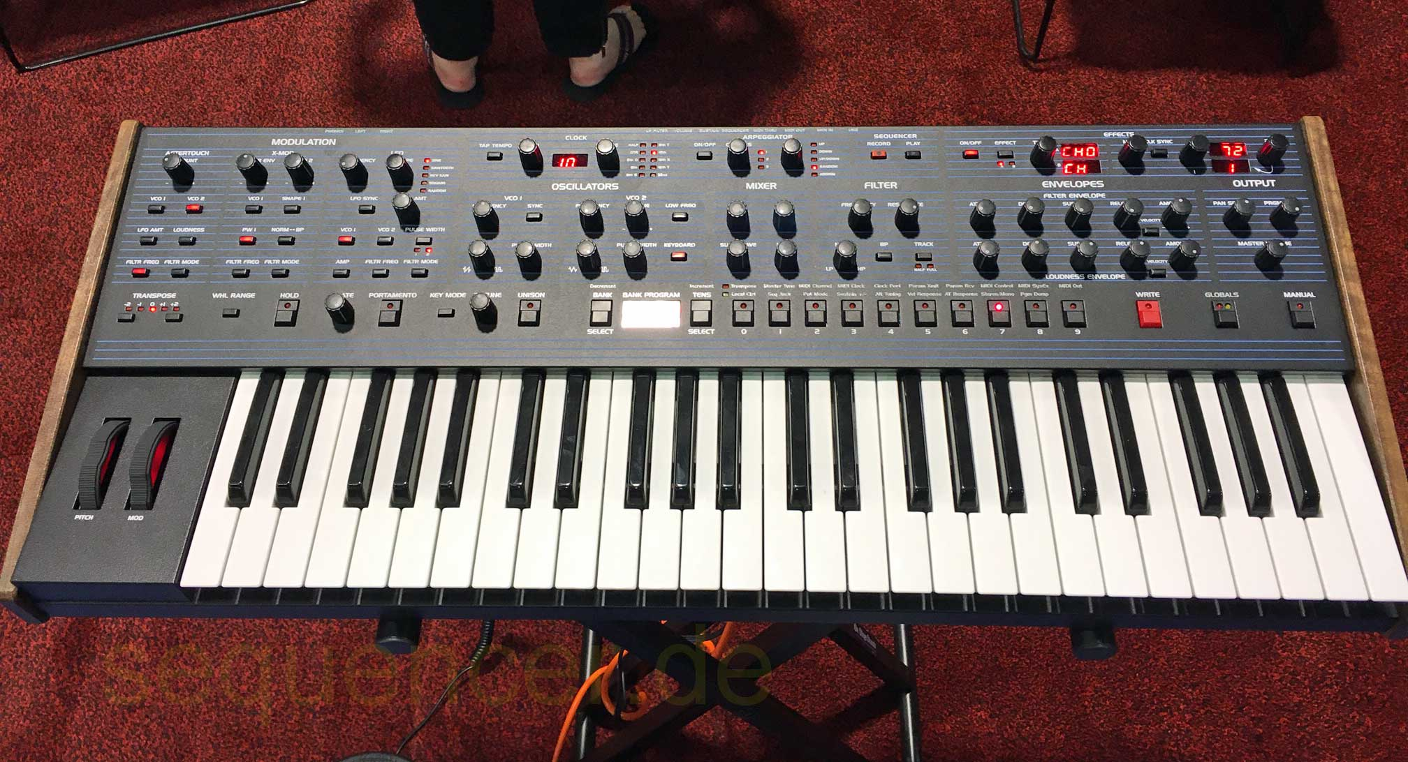 Dave Smith OB6 synthesizer