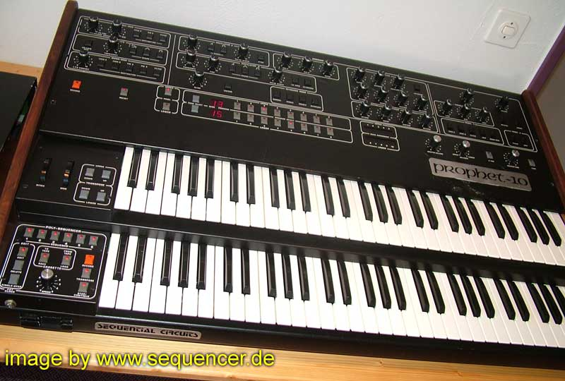 Sequential Circuits Prophet 10 synthesizer