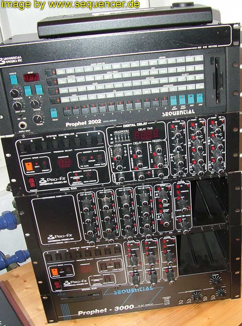 Sequential Circuits Prophet 2000, Prophet 2002 synthesizer