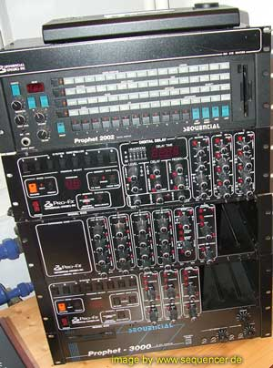 Sequential Circuits Prophet2000, Prophet2002 synthesizer