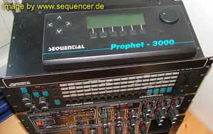 Sequential Circuits Prophet3000 synthesizer