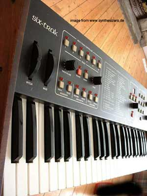 SCI sixtrak synthesizer