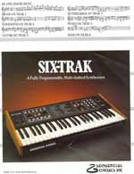 sixtrak synthesizer
