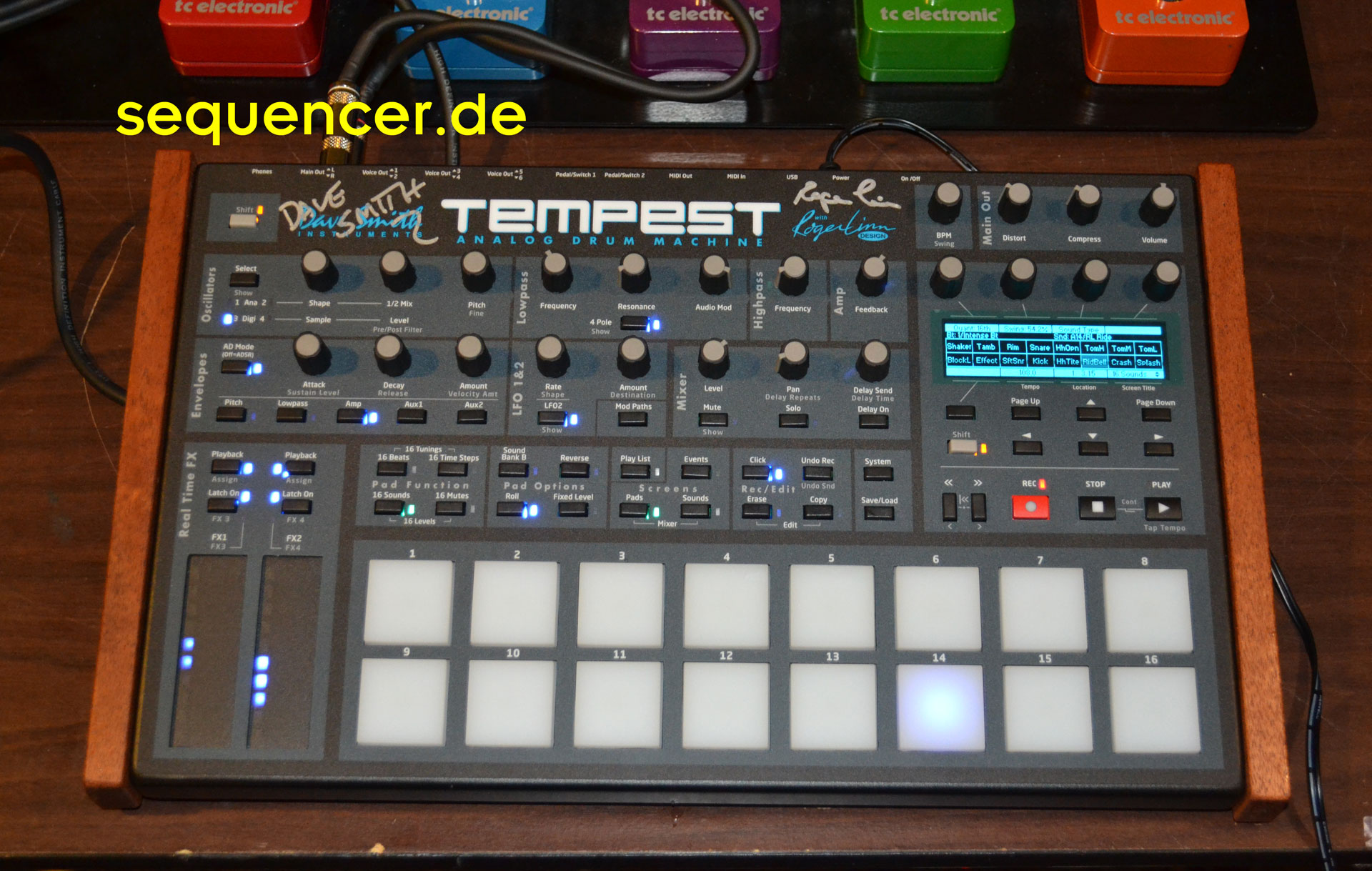 Dave Smith Tempest synthesizer