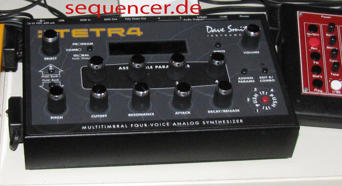 Dave Smith Tetr 4, Tetra synthesizer