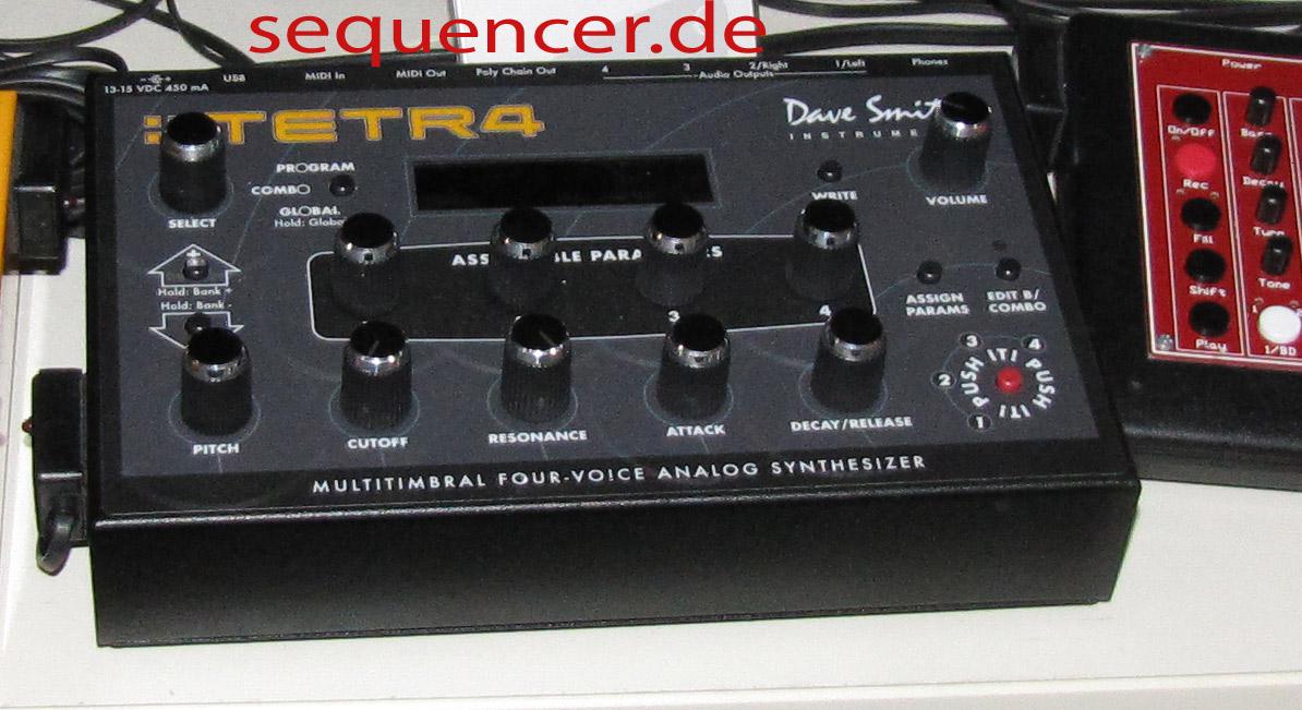 Dave Smith Tetr4, Tetra synthesizer