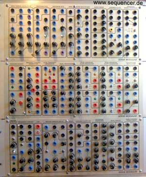 Serge Modular synthesizer