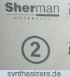 Sherman Filterbank 2 Sherman Filterbank II Logo synthesizer