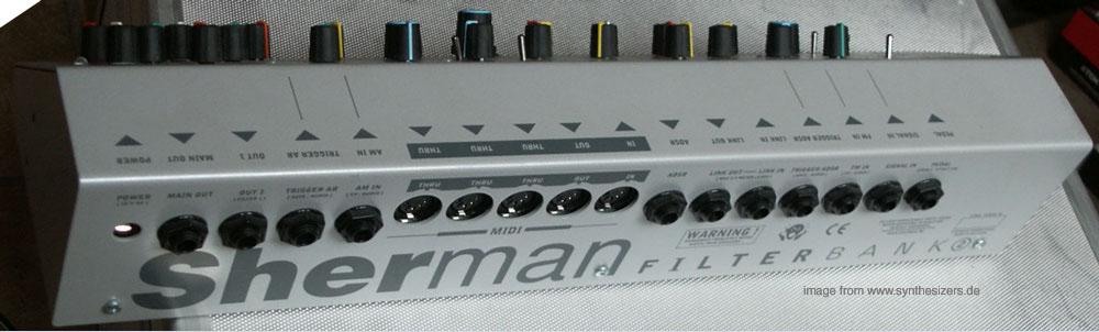 Sherman Filterbank 2 Sherman Filterbank II synthesizer