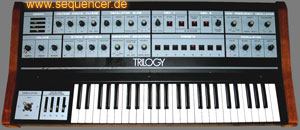 Crumar Trilogy synthesizer