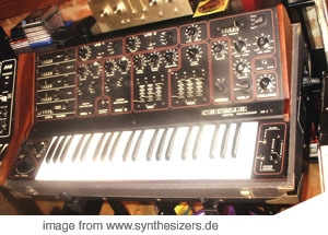 Crumar DS-2 Red DS-2 synthesizer