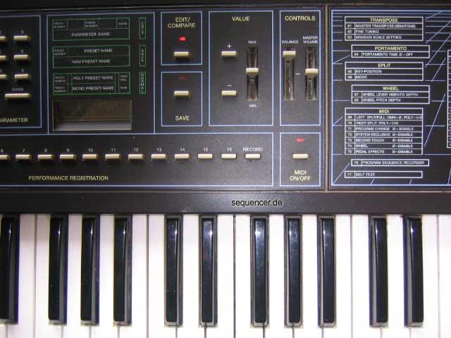 Elka EK22, EM22 synthesizer