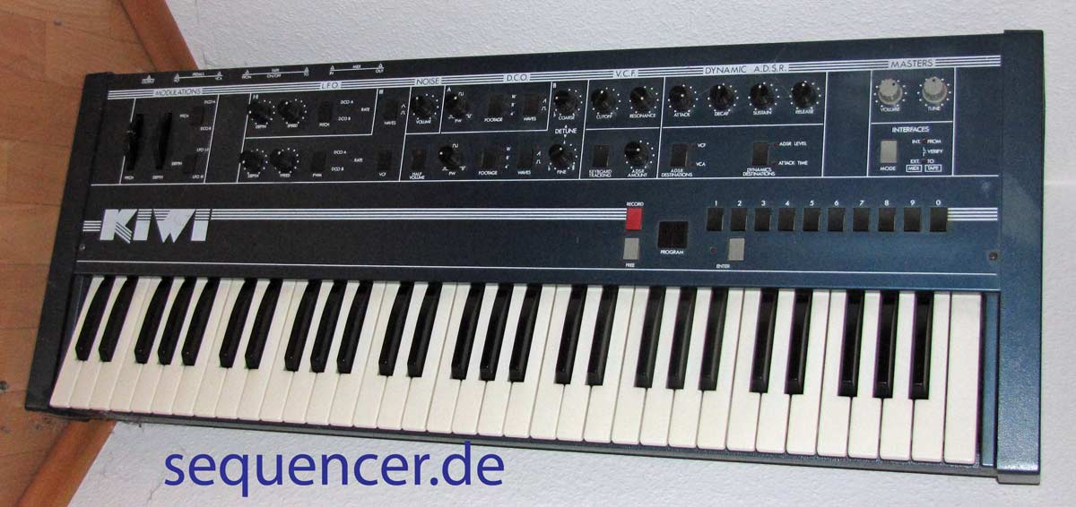 Kiwi by Siel Kiwi Synth synthesizer