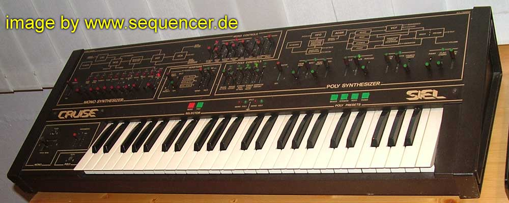 Siel Cruise synthesizer