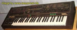 Siel Cruise synthesizer