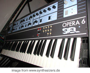 Siel Opera6, DK600 synthesizer