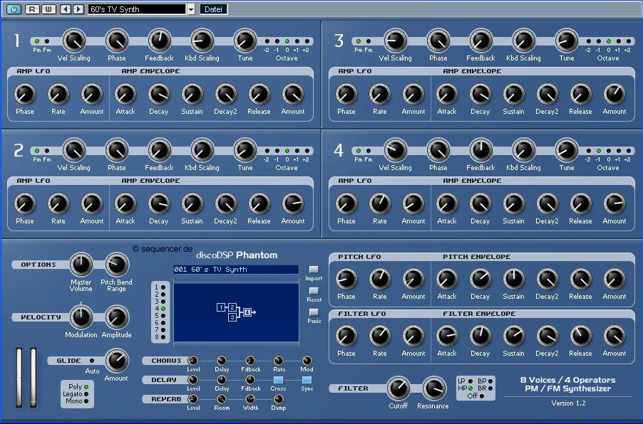 DiscoDSP Phantom synthesizer