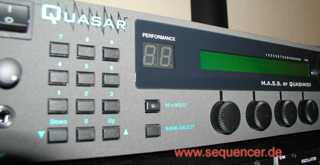 quasimidi quasar digital synthesizer step sequencer. Black Bedroom Furniture Sets. Home Design Ideas