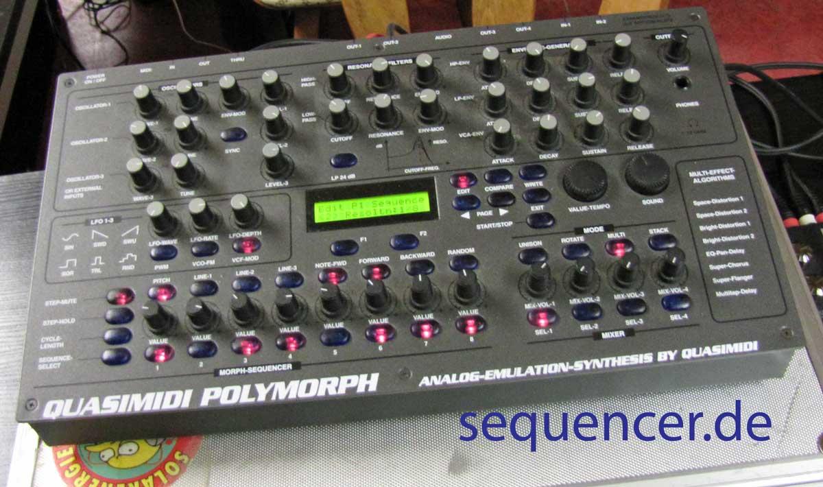 Quasimidi Polymorph Quasimidi Polymorph synthesizer