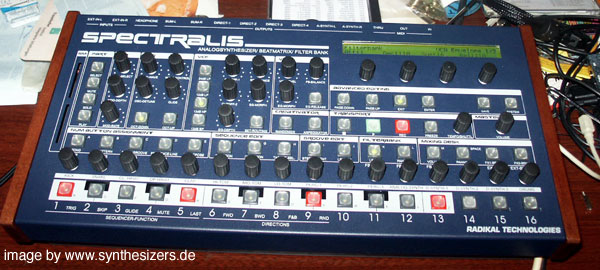 radikal technologies spectron synthesizer