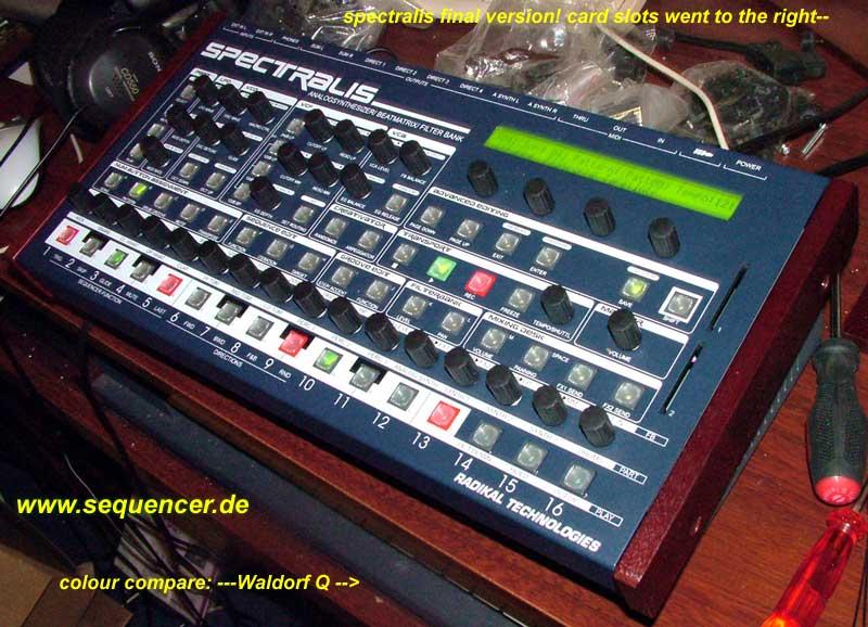 Radikal Spectralis synthesizer