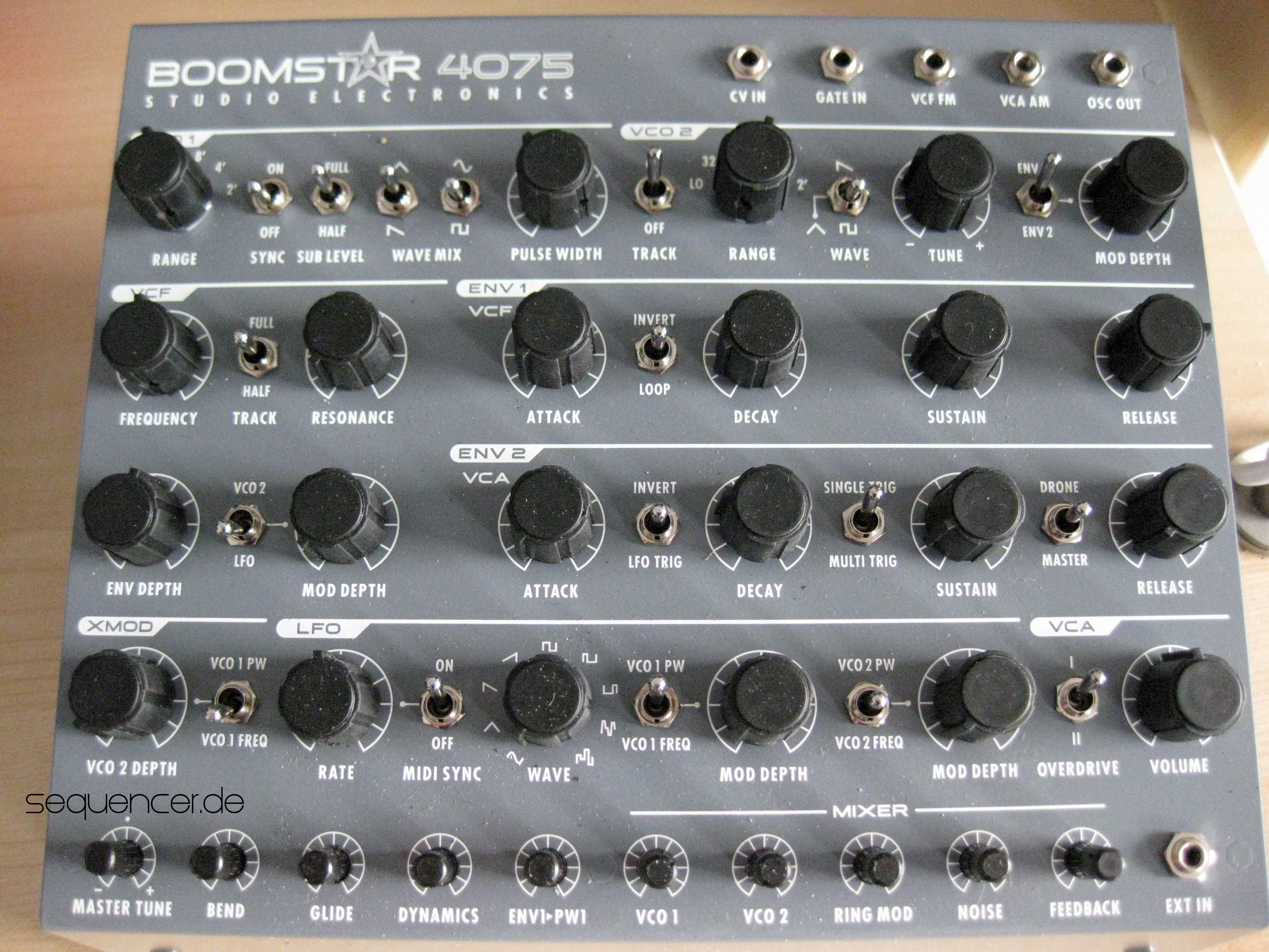 Studio Electronics Boomstar3003 Boomstar4075 Boomstar5089 synthesizer